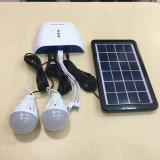 Домашняя миниая солнечная осветительная установка с батареей лития 7.4V 2.2ah