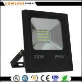 La serie económica 20W/30W/50W 220V proyector LED para la fábrica.