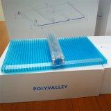 Água contínua do painel 100% do painel U do policarbonato U impermeabilizada, telhar e folha da clarabóia