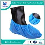 使い捨て可能なCPEの反スリップの防水靴カバー