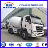 Howojac 8m3 6X4のミキサーのトラックの具体的なミキサーのトラックか動揺の貨物自動車