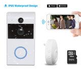Interfone Campainha sem fio vídeo com sistema de segurança doméstica de intercomunicador