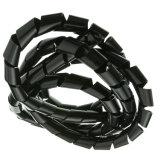 Couleur Noir RoHS PE wrapping de fil en spirale