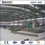 Taller de fábrica de la construcción de almacenes prefabricados de estructura de acero