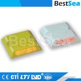 Белый отражатель PS 20мм пластиковые шпильки дорожной разметки