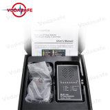 Audio inseguitore dell'errore di programma 2g/3G/4G GPS del rivelatore della visualizzazione del cercatore acustico dell'obiettivo + rivelatore versatile 3G della macchina fotografica del rivelatore rf della spazzatrice senza fili dell'errore di programma/rivelatore di 4G Smartphone