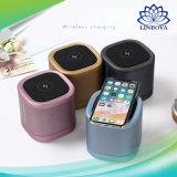 Recharge sans fil portable stéréo haut-parleur Bluetooth caisse à l'appui de la fonction Mains libres pour les téléphones