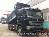 Sinotruk HOWO A7 10 ruedas de la unidad izquierdo Euro4 Dumper