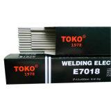 Asw A5.1 E7018 de Lage Elektroden van het Lage Koolstofstaal van de Waterstof