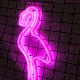 Flamingo Gestalte gegeven Neonlicht (91-TY1832)