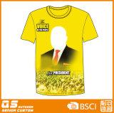Eleição de base personalizadas promocionais camisetas