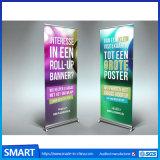 習慣によって印刷される屋外の環境に優しい広告は立場のAl合金を転送する旗を抜く