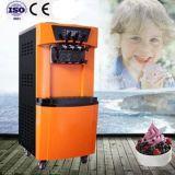 Ce commercial agréé les machines de crème glacée molle servir
