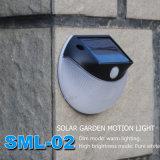 Batteriebetriebene Miniweihnachtssolarbeleuchtung des bewegungs-Fühler-LED