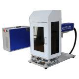 Meilleure Marque font largement usage de machine de marquage au laser à fibre 20W sur les métaux ABS avec couvercle en PVC de Pec