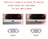 Micro USB Universal caliente de tipo C estándar Qi cargador inalámbrico receptor para Samsung Xiaomi iPhone carga de la Bobina Móvil Huawei