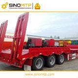 50 toneladas Lowboy CIMC semi remolque/Lowbed excavadora para