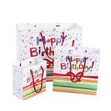 Рождество Custom Утилизация печатной бумаги в подарок пакет (YH-PGB055)
