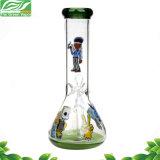 Neue Wasser-Rohr-GlasHuka des Entwurfs-10inches Handblown rauchende
