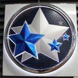 Автомобиль логотип с их название, логотип из высококачественного металла, подписать
