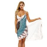 Las mujeres de una pieza de la playa de secado rápido encubrir el traje de baño Ropa