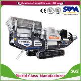Sbm Kf1415-1シリーズ移動式石造りの顎粉砕機のディーゼル、移動式砕石機、携帯用石の粉砕機機械