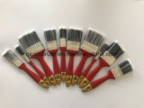 Brosse de peinture de vente à chaud avec poignée en plastique rouge