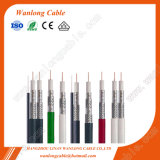 75ohmios RG58 cable RG6 RG59 cable RG11 CCTV (CE RoHS, CPR) de la serie Cable coaxial RG