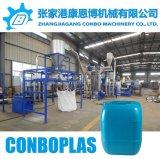 큰 HDPE 드럼을%s 세척 알갱이로 만드는 작은 알모양으로 하기 기계를 재생하는 플라스틱
