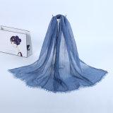 ブランドのスカーフの女性の長いショールのばねおよびElegant Hijab Wraps秋の良質の女性