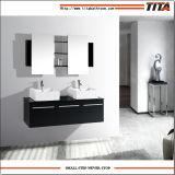 Casa de madeira maciça vaidade// sólidos de madeira armário de toucador/para casa de banho (T9017)