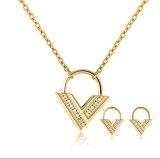 As mulheres de jóias em aço inoxidável Colar Jóias de definir
