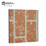 Panneaux muraux décoratifs Fibre 3D de revêtement de ciment