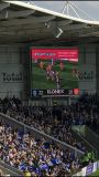 Kleur van de van het achtergrond stadium LEIDENE van het Stadion van het Scherm het Volledige Scherm van de Vertoning