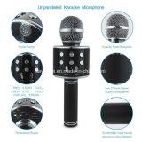 Mikrofon iPhone PC를 위한 소형 Bluetooth 무선 Karaoke 마이크 전화 선수 Mic 스피커 기록 음악 KTV Microfone