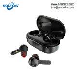 Tws 확실한 무선 입체 음향 소형 스포츠 Bluetooth 헤드폰 에서 귀 이어폰
