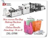 루프 손잡이 밀봉 기계를 가진 기계장치를 만드는 환경 짠것이 아닌 쇼핑 백