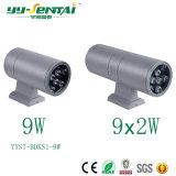 Testa di RoHS 3With36W uno del Ce o doppio indicatore luminoso della parete di Heand LED