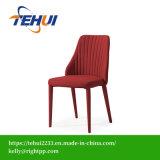 Tecido Cadeira lateral de jantar com elegante design de morder
