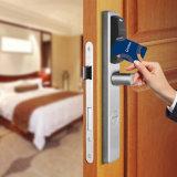 Hotel de acero inoxidable Cerradura con Euro balseta