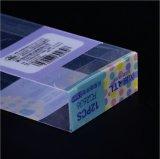 柔らかい折目の自動最下の明確なプラスチックの箱のプラスチック包装ボックス