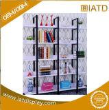 Деревянный шкаф книг индикации пола с шлицами для тетради/чашки/коробки/вазы/связи/альбома