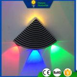 luz en abanico de la pared de 4W LED
