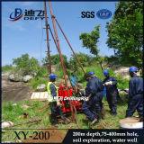 Precio inferior pozo de agua equipo de perforación de núcleo xy-200