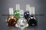 ciotola di vetro di 14mm/18mm per i tubi di vetro di vetro del tubo di fumo