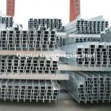 Q235, Q275, Q345, Ss400, laminé à chaud, faisceau en acier carbone H / I pour la construction