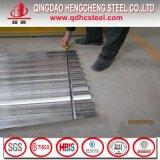 Tôle d'acier ondulée galvanisée pour des tuiles de toiture