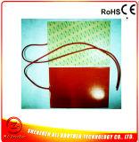 fio de ligação do calefator 230V 230W 1000mm da borracha de silicone de 250*550*1.5mm