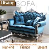 De madera maciza de gama alta sofá de la sala para la decoración de estilo clásico