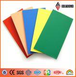 El panel compuesto de aluminio colorido de Ideabond Hotsale PVDF para la pared de Curtaina